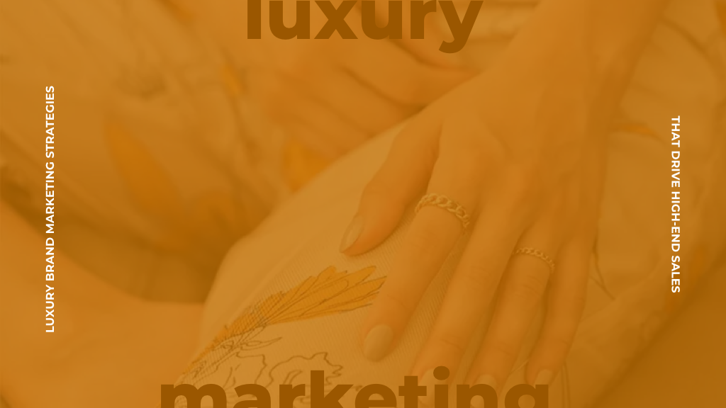 luxury ecommerce agency - jewelry store marketing